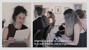 Fragmento da rolda de prensa onde se presentou Afrodita