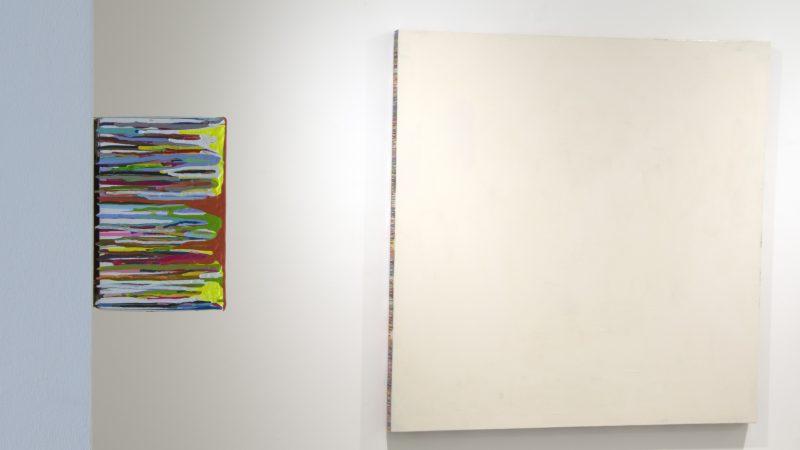 Vista de sala. Exposición en la Fundación Didac con Miguel Marina, 2018