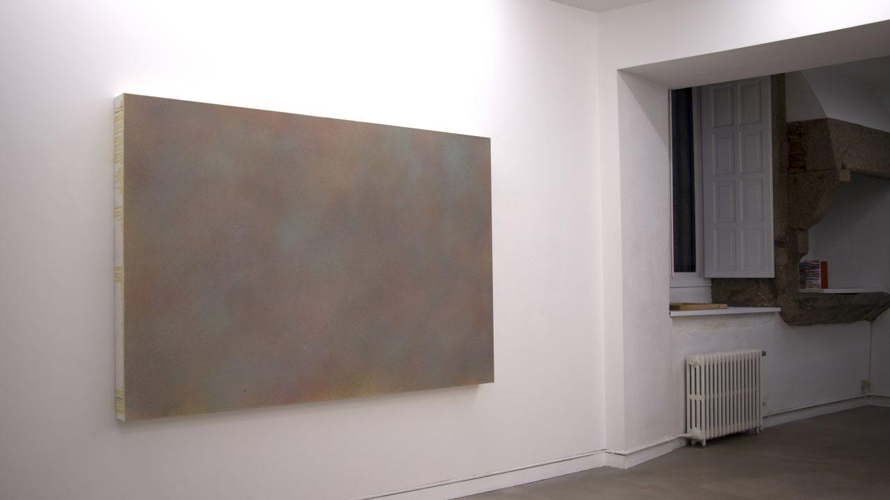Vista de sala. Exposición en la galería Nordés, 2019